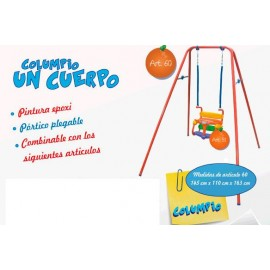 Columpio 1 Cuerpo Plegable ART.60