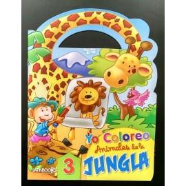 YO COLOREO ANIMALES DE JUNGLA 2421