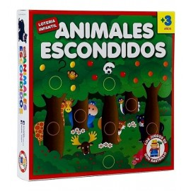 ANIMALES ESCONDIDOS LOTERIA INFANT.H467