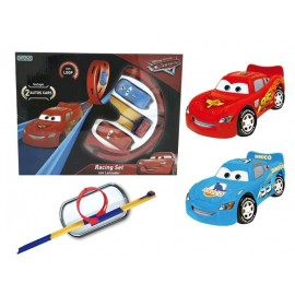 CARS RACING SET CON LANZADOR 1183