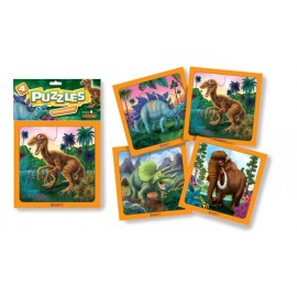 PUZZLE DINOSAURIOS CHICO X 4 ART.8
