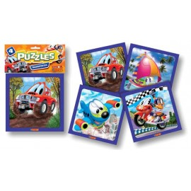 PUZZLE TRANSPORTE CHICO X 4 ART.5