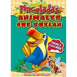 PINCELADAS ANIMALES QUE VUELAN 2525