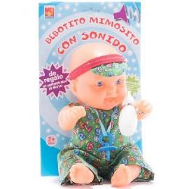 BEBE MEDIANO EN BLISTER CON SONIDO 7502