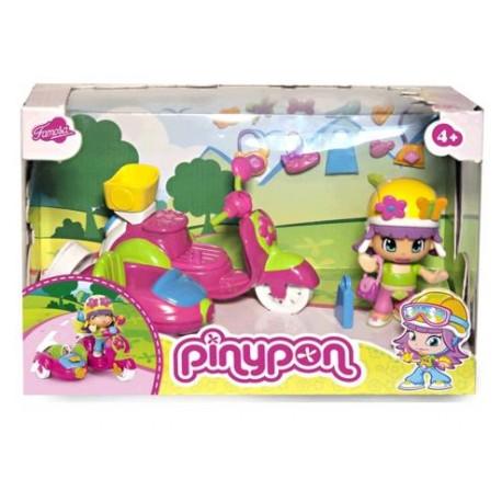 PINYPON VEHICULO MOTO/AUTO CON FIG 10682