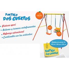 Portico 2 Cuerpos p/Hamaca ART.90