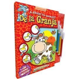 A DIBUJAR LOS ANIMALES DE GRANJA 2480