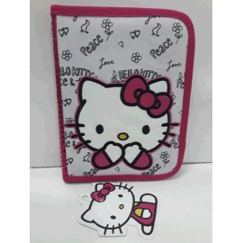 CARTUCHERA 1 NIVEL HELLO KITTY MK7091
