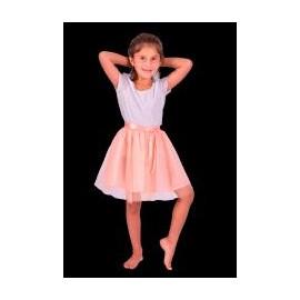 Disfraz Violeta Plateado T3 7605