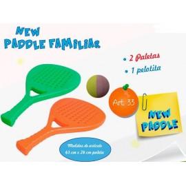 Soft Paddle c/Pelota 33