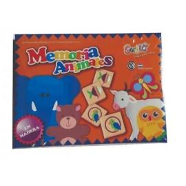 MEMORIA  ANIMALES DE MADERA