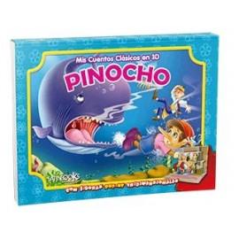 MIS CUENTOS CLASICOS 3D PINOCHO 2352