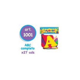 CASCARITAS ABC MAYUSCULAS ART 1001