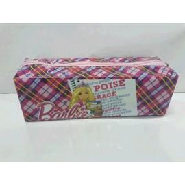 Cartuchera C/Cierre Cuadrada Barbie 1039