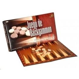 BACKGAMMON PIEZAS MADERA TABL.34X34 8743