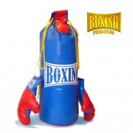 GUANTES DE BOX Y BOLSA PREMIUM 112