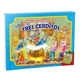 MIS CUENTOS CLASICOS 3D LOS 3 CERD 2348