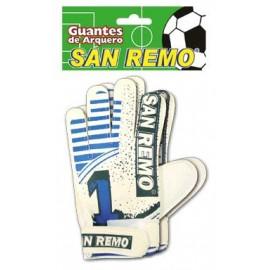 GUANTE ARQUERO SAN REMO SURTIDO 55922