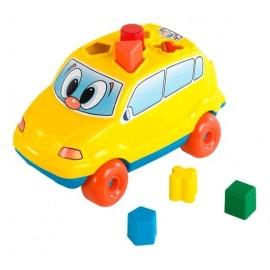 BABY CAR DIDACTICO C/ENCASTRES 704
