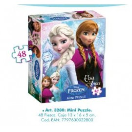 MINI PUZZLE FROZEN 3280