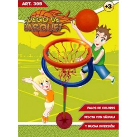 Basquet completo c/pelota caja 39