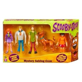 5 PERSONJES SCOOBY DOO 5566