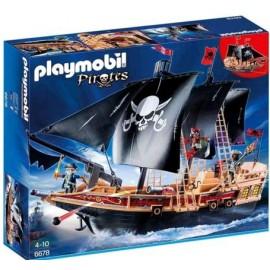 PLAYMOBIL BARCO PIRATA COMBATE 6678