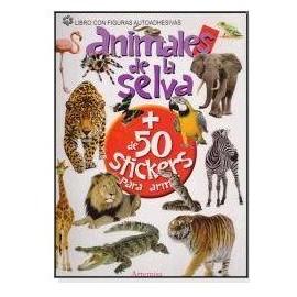 *ANIMALES DE LA SELVA + 50 STICKERS12804