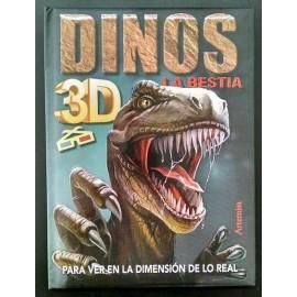 DINOS 3D LA BESTIA 636-6