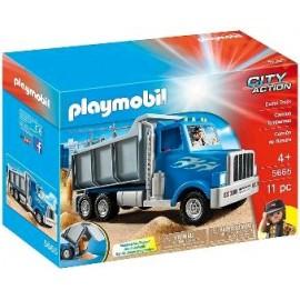 PLAYMOBIL CAMION VOLCADOR 5665