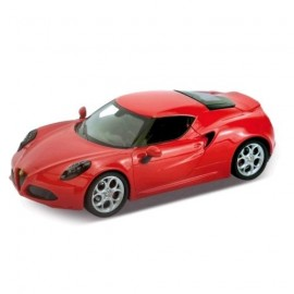 WELLY 1:24 ALFA ROMERO 4C  24048