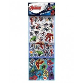 SET MAS 100 STICKERS AVENGERS VAV03423