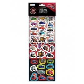 SET MAS 100 STICKERS CARS DCR07828