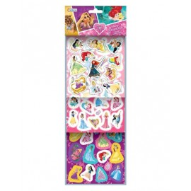 SET MAS 100 STICKERS PRINCESAS DJU00745