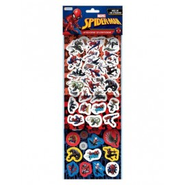 SET MAS 100 STICKERS SPIDERMAN VSP03255