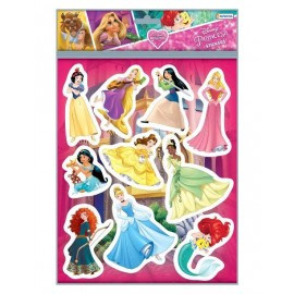 SET STICKERS 2 PLANCHAS PRINCESDJU00746