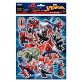 SET STICKERS 2 PLANCHAS SPIDER VSP03256