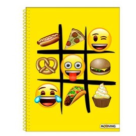 CUADERNO UNIVERSITARIO RAY/EMOJI 1208179