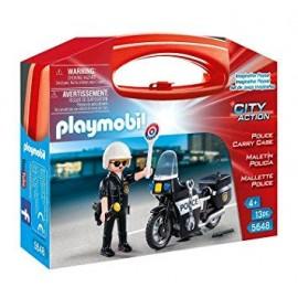 PLAYMOBIL MALETIN POLICIA 5648