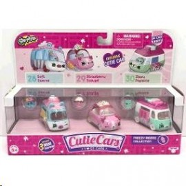 Shopkins-cutie cars blister c/3veh.56611