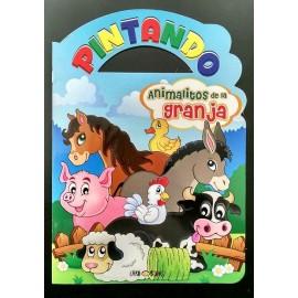 PINTANDO ANIMALITOS DE LA GRANJA 7141