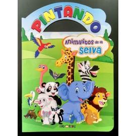 PINTANDO ANIMALITOS DE LA SELVA 7158
