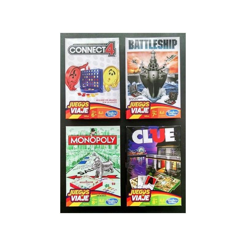 Juegos De Viaje Hasbro 1004 Distribuidora Petoys