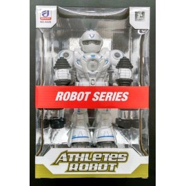 ROBOT A PILA C/LUZ/SONIDO 6026/6096