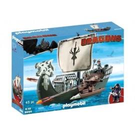 PLAYMOBIL BARCO DE DRAGONES 9244