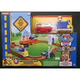 Paw patrol-pista para armar tren -16695