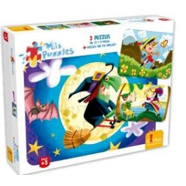 PERSONAL PUZZLE BRUJA 723
