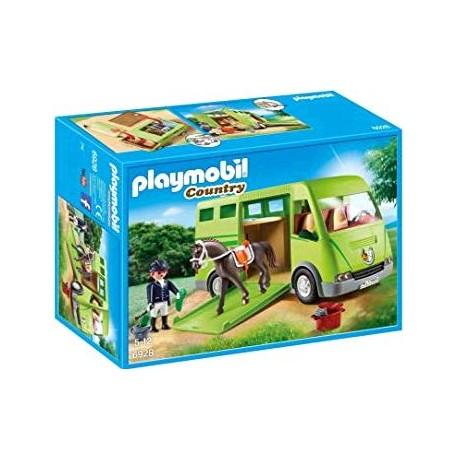 PLAYMOBIL TRANSPORTE DE CABALLOS 6928