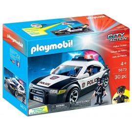 PLAYMOBIL AUTO POLICE CRUISER 5673