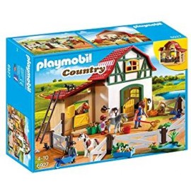 PLAYMOBIL GRANJA DE LOS PONYS 6927